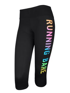 Signature 3/4 Tight | Running Bare Activewear - Australian Made gym wear, sportswear and fitness apparel for women. Ideal for Pilates and yoga
