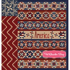 2aad75daf7 Star Spangled Liberty Block of the Month! - Fat Quarter Shop s Jolly Jabber  Liberty Quilt