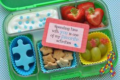 Puzzle Yumbox for Autism Awareness Month