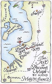 Rare opportunity to design and draw your own map with an experienced on