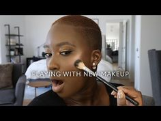 Playing with New Makeup Makeup Videos, Makeup Tips, Jordan Liberty, Luminous Powder, Shape Tape, Dye My Hair, Lip Liner, Concealer, Mists