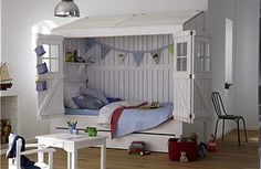 Amazing bed for a child's room