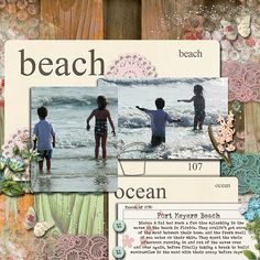 vacation scrapbooking | beach scrapbooking ideas