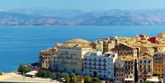 Greek Shipping Minister Fotis Kouvelis announced that a ferry route linking the Ionian island of Corfu with the Othoni islands would launch at the start of Beach Resorts, Hotels And Resorts, Greek Island Tours, Visit Albania, Corfu Town, Corfu Island, Corfu Greece, Greece Holiday, Greece Islands