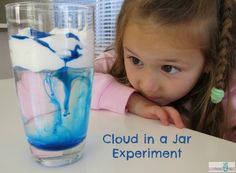Cloud in a Jar Experiment by Learning 4 Kids