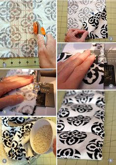 Going to make a million of these for winter wedding or for my house:)  DIY Homemade Heating Pad