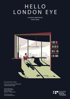 Werbeplakate mit meisterhaften Vektorillustrationen