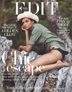 Josephine Skriver on The Edit Magazine May 2016 Cover
