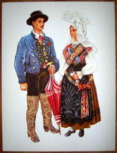 Slovenia Folk Costume - Gorenjska