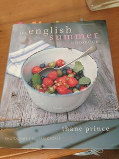 Gorgeous cookery book, full of great recipes - Minted Hollandaise Sauce