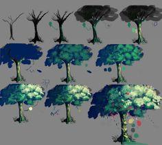 Tutorial How I make the tree by Caphricorn on DeviantArt