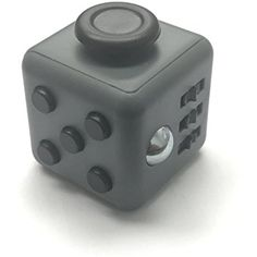 Fidget Cube Relieves Stress And Anxiety for Children and Adults Anxiety Attention Toy (Black, Dark Grey) -- Want to know more, click on the image. (This is an affiliate link) #GagToysPracticalJokes