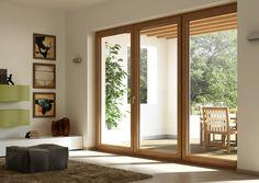Winergetic de OKNOPLAST : une porte-fenêtre au design élégant.  #Oknoplast #design #fenêtre #portefenêtre #maison