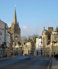 Oxford High Street, England (by Martin Beek)