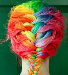 Amazing! Perfect for a girl who used to be Rainbow Brite, like myself.