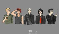 Evolution of Gerard Way