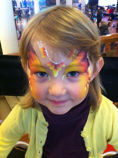 #faceNbodyPaint butterfly princess