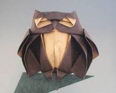 Resultado de imagen para owl origami