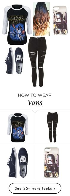 """Untitled #358"" by carolinamalik559 on Polyvore featuring Topshop and Vans"