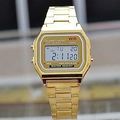 Masculino Assista Quartz Relógio de Moda Aço Inoxidável Banda Relógio de Pulso - BRL R$ 41,87
