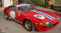 Vintage Rally Ferrari