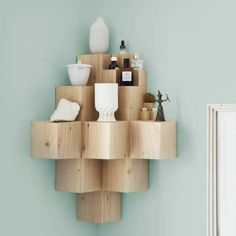 Solid Wood Shelves Inspiring Diy Modular Shelving Projects For Interior…