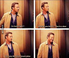 Oh, Chandler...#FRIENDS