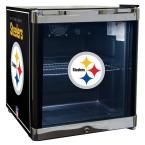 17 in. 20 (12 oz.) Can Pittsburgh Steelers Beverage Center, Black