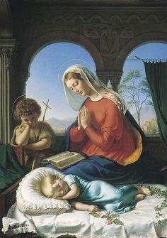 Gerhard Wilhelm von Reutern (1794–1865) Holy Family.jpg