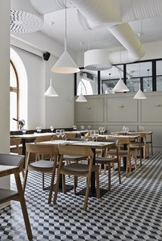 Intro restaurant, Finland | TON a.s. - Chairs made by people