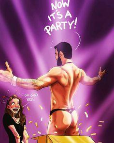 """3,805 curtidas, 59 comentários - Yehuda Devir (@jude_devir) no Instagram: """"My Mush Bachelorette Party #bacheloretteparty #party #bachelorette #illustration #mygirl…"""""""
