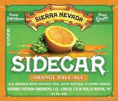 mybeerbuzz.com - Bringing Good Beers & Good People Together...: Sierra Nevada - Sidecar Orange Pale Ale