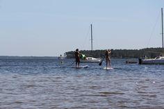 Stand Up Paddle Academy au bord du lac Moutchic de Lacanau sur sup-passion.com