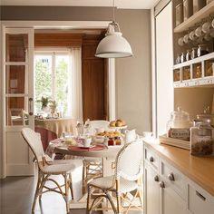 8 ideas para comer en la cocina