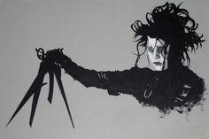 Edward Scissorhands by NewGraffiti.deviantart.com on @deviantART