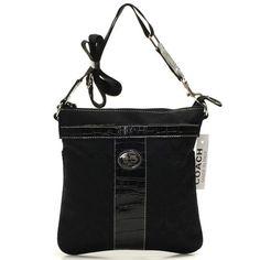 Coach Legacy Swingpack In Signature Medium Black Crossbody Bags BEG Give You The Best feeling!