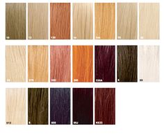 Strawberry Blonde Hair Color Chart  Beauty And Hair