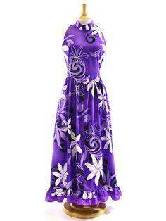 Hula Dress 331R - Hula Dress Size Order - | AlohaOutlet SelectShop Polynesian Dresses, Hawaiian Outfits, Samoan Dress, Hawaiian Muumuu, Different Dress Styles, Crystal Wedding Dresses, Island Wear, Aloha Hawaii, Tahiti