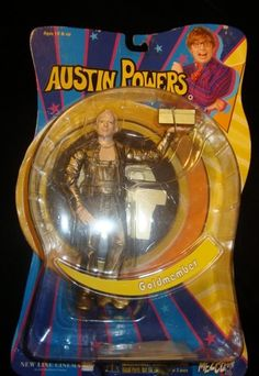 Austin Powers Goldmember Mezco 2002 RARE Utterly Cool | eBay