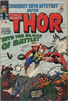Thor battles the Viet Cong.