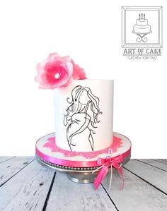 Baby Shower Cake by ArtofCakeNY