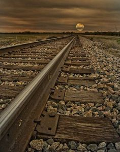 Rail Sunset, North Carolina —