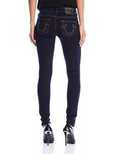 True Religion Womens Casey Low-Rise Skinny Jean