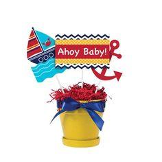 Ahoy Matey! Centerpiece Sticks 3pc | Wally's Party Factory #AhoyMatey #centerpiece #babyshower #nautical