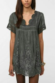 ♡♡ Love this! I like that it's different and not like every other gray shirt.