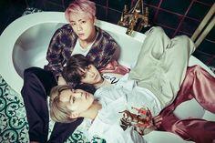 Jin, Jimin and Suga