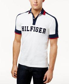 Tommy Hilfiger Men's Custom-Fit Jessie Polo | macys.com