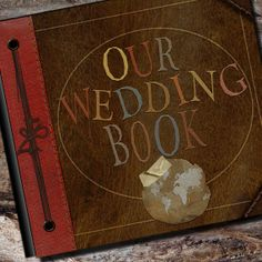 Personalized Our Wedding Photo Album or Scrapbook by AlbumOptions, $55.95