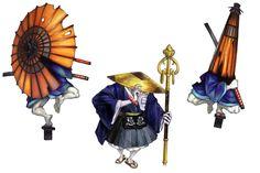 Karakasa & Yougenbou - Muramasa: The Demon Blade