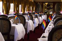 Wine Train Pride Ride is on March 19, 2016. It's the sixth annual LBGT celebration and will offer amazing food and wine! See more info at http://winetrain.com/package/pride-ride/